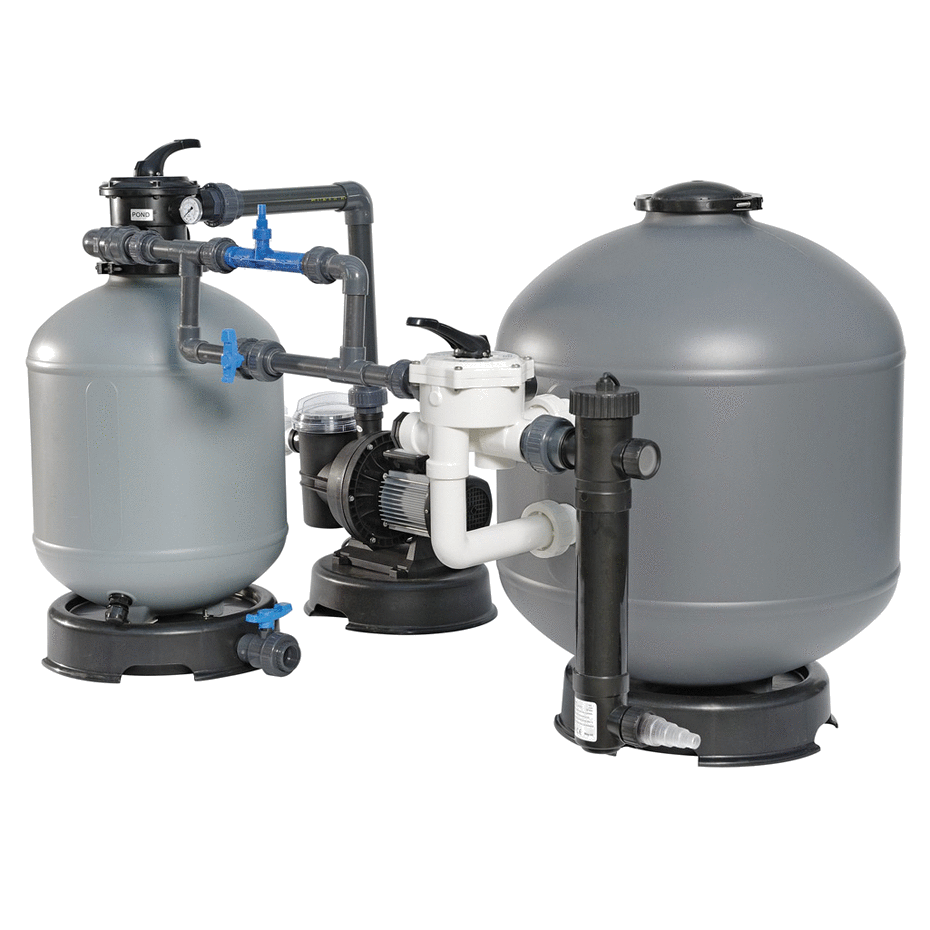 Biologinio Filtravimo Sistema Eko Baseinams ir Tvenkiniams